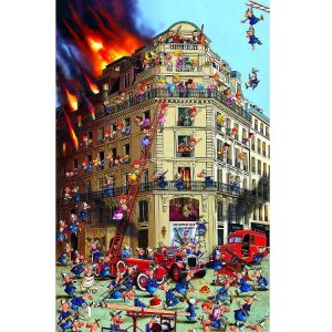 Piatnik- Ruyer, Fire Brigade 1000 Piece Jigsaw Puzzle
