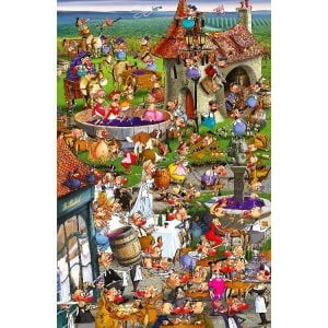 Piatnik - Ruyer, Story of Wine 1000 Piece Puzzle