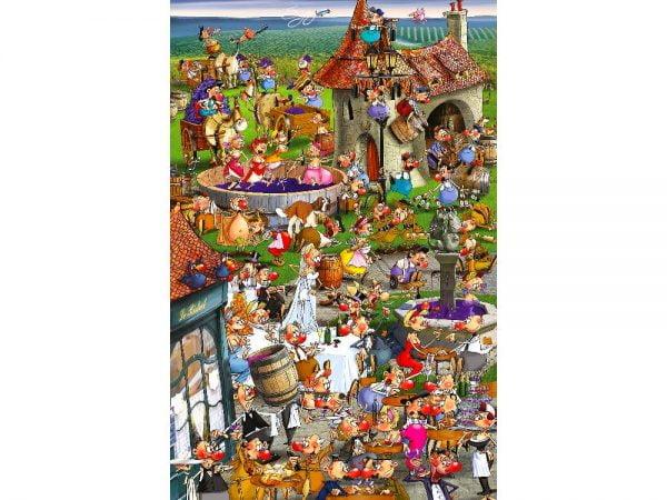 Piatnik - Ruyer, Story of Wine 1000 Piece Puzzle