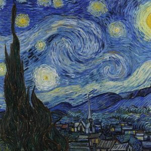 Piatnik - Van Gogh, Starry Night 1000 Piece Jigsaw Puzzle