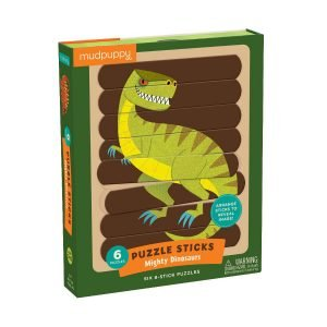 Puzzle Sticks - Mighty Dinosaurs - Mudpuppy