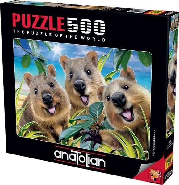 Quokka Selfie 500 Piece Anatolian Jigsaw Puzzle