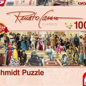 Renato Casaro - 100 Years of Film 1000 Piece Jigsaw Puzzle