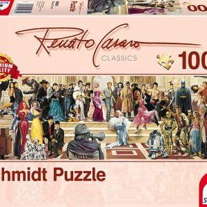 Renato Casaro - 100 Years of Film Jigsaw Puzzle - Schmidt