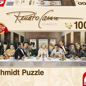 Renato Casaro - Invitation 1000 Piece Jigsaw Puzzle - Schmidt