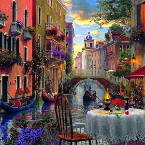 Romantic Supper 6000 Piece Trefl Jigsaw Puzzle