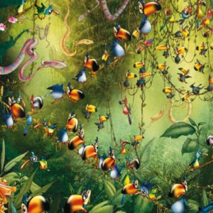 Ruyer - Jungle Toucans 1000 Piece Jigsaw Puzzle - Piatnik