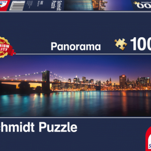 Schmidt - Lights of New York 1000 Piece Jigsaw Puzzle
