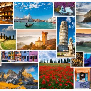 Schmidt - Take a Trip to Italy 1000 Piece Jigsaw Puzzle