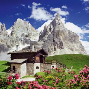 Segantini Hut Dolomites 1500 Piece Jigsaw Puzzle