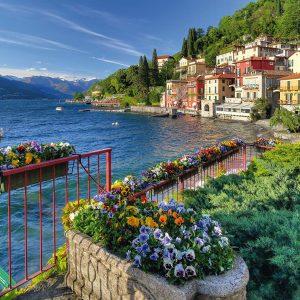 Shores of Lake Como 1000 Piece Jigsaw Puzzle - Schmidt
