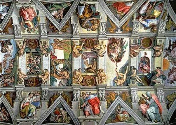 Sistine Chapel Ceiling 6000 Piece Trefl Jigsaw Puzzle