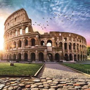 Sun Drenched Colosseum 1000 Piece Jigsaw Puzzle - Trefl