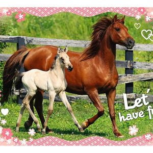 Sweet & Lovely - Horses 160 Piece Jigsaw Puzzle