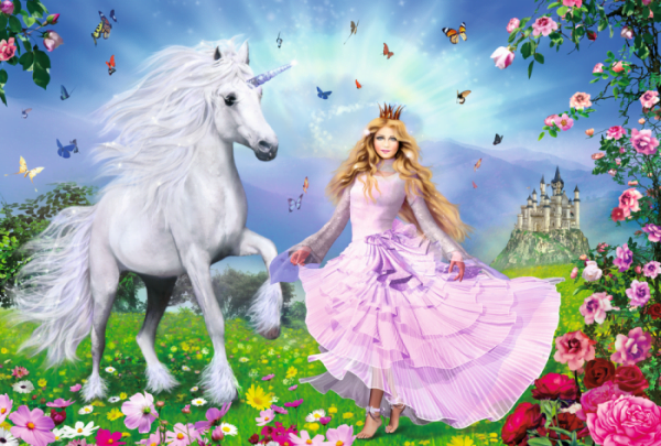 The Unicorn Princess 100 Piece Jigsaw Puzzle