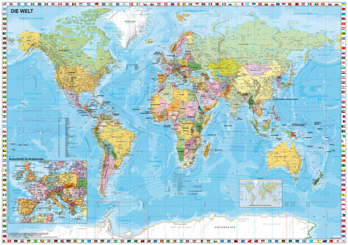 Schmidt World Map Jigsaw Puzzle For Children 200 Pieces Toy Gift ...