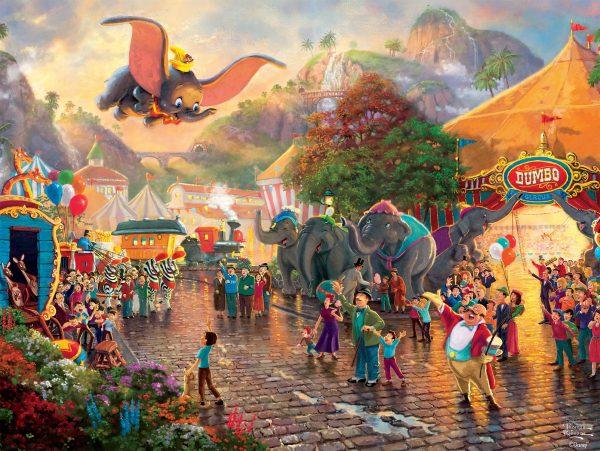Thomas Kinkade - Disney Dumbo 750 Piece Puzzle
