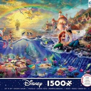 Thomas Kinkade Disney Little Mermaid 1500 Piece Puzzle