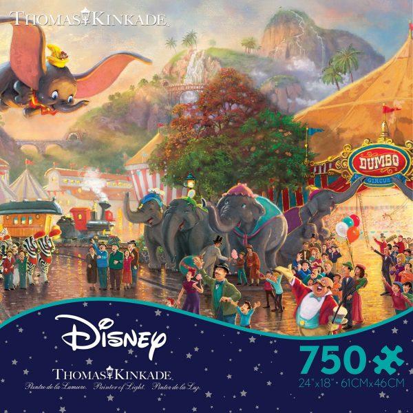 Thomas Kinkade - Disney Dumbo 750 Piece Jigsaw Puzzle