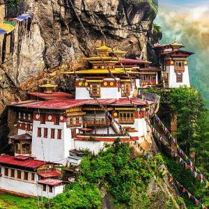 Tiger's Nest Bhutan 2000 Piece Jigsaw Puzzle - Trefl