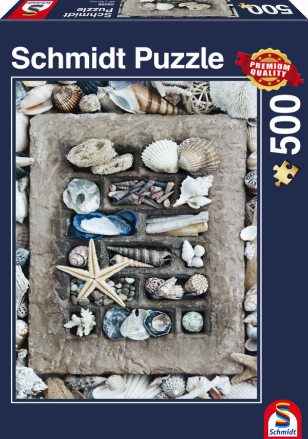 Treasures of the Sea 500 Piece Schmidt Jigsaw Puzzle