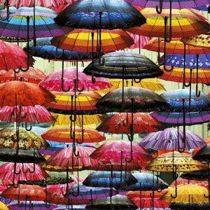 Umbrellas 1000 Piece Jigsaw Puzzle - Piatnik