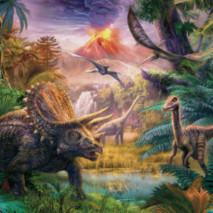 Valley of the Dinosaurs 100 piece Jigsaw Puzzle