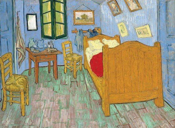 Van Gogh - Bedroom At Arles 4000 Piece Tomax Jigsaw Puzzle