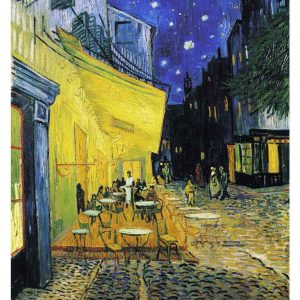 Vincent Van Gogh - The Cafe Terrace on the Place du Forum, Arles, at Night 2000 Piece Puzzle