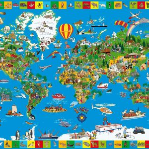 Your Amazing World 200 Piece Schmidt Puzzle