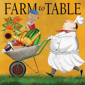 Bon Appetit - Farm to Table 300 Large Piece Puzzle - Ceaco