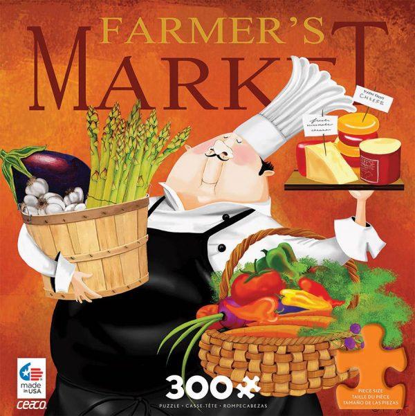 Bon Appetit - Farmers Market 300 Large Piece Jigsaw Puzzle - Ceaco