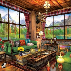 Cozy Cabin 1000 Piece Eurographics Jigsaw Puzzle