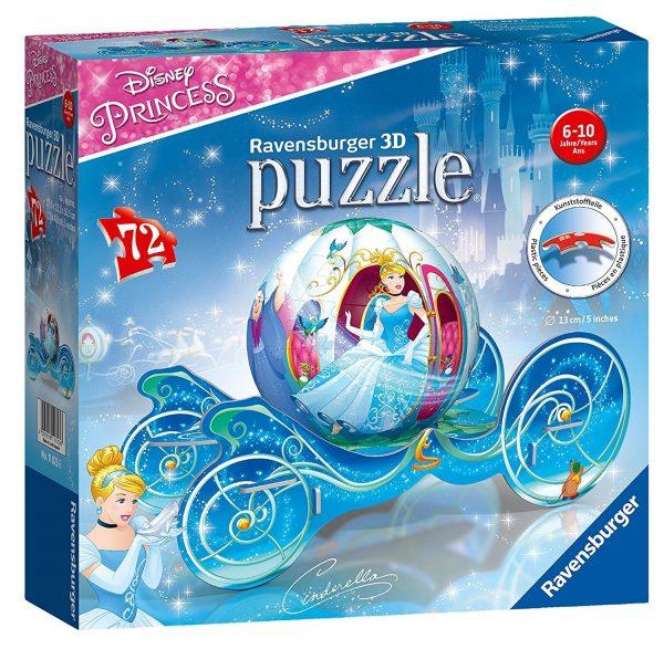 Disney Cinderella Carriage 3D Puzzle - Ravensburger