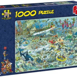 JVH - Deep Sea Fun 1000 Piece Jigsaw Puzzle- Jumbo