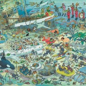 JVH - Deep Sea Fun 1000 Piece Jigsaw Puzzle - Jumbo