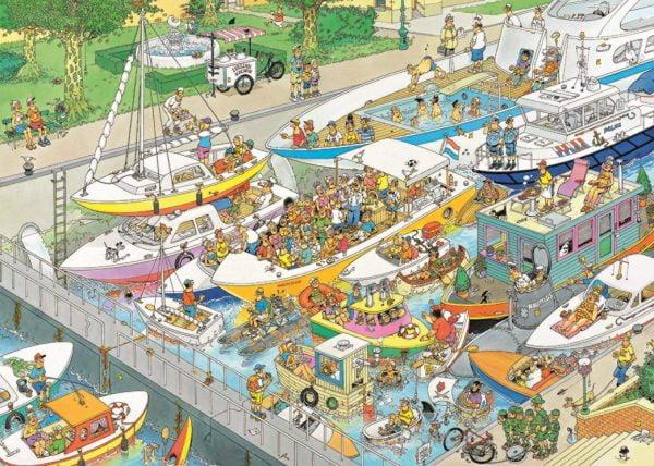 JVH The Locks 1000 Piece Jigsaw Puzzle - Jumbo