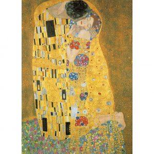 Klimt, The kiss 1000 Piece Jigsaw Puzzle - Piatnik