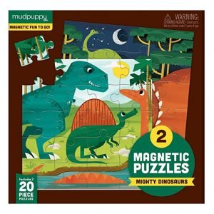 Magnetic PUzzles - Mighty Dinosaurs - Mudpuppy