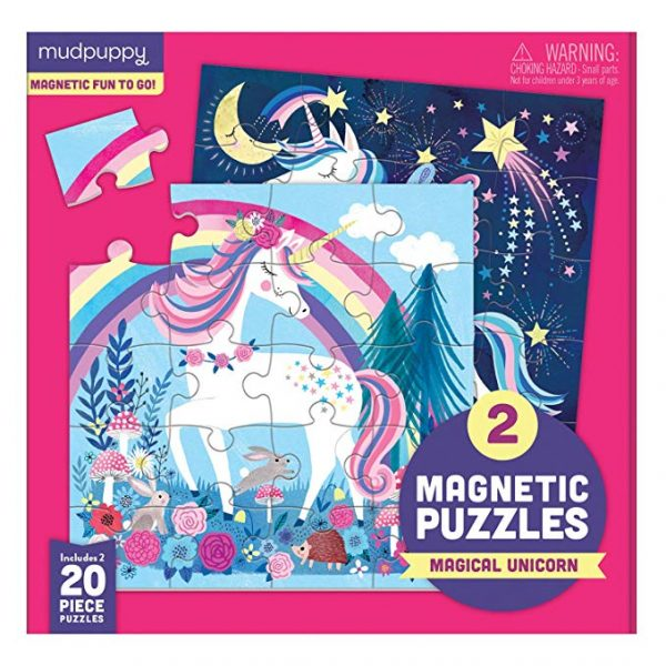 Magnetic Puzzles - Magical Unicorn - Mudpuppy1