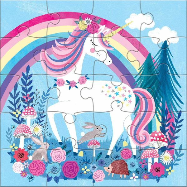 Magnetic Puzzles - Magical Unicorn - Mudpuppy
