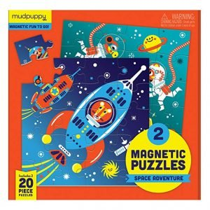 Magnetic Puzzles - Space Adventure - Mudpuppy
