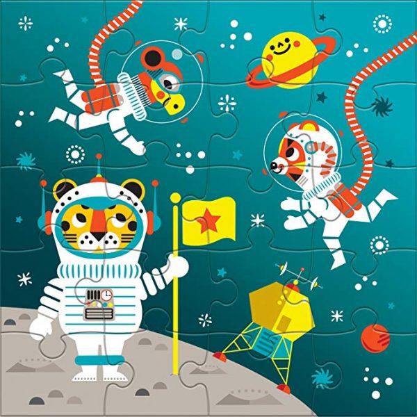 Magnetic Puzzles - Space Adventure - Mudpuppy