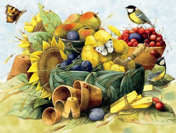 Marjolein Bastin - Fall Harvest 300 Piece JIgsaw Puzzle