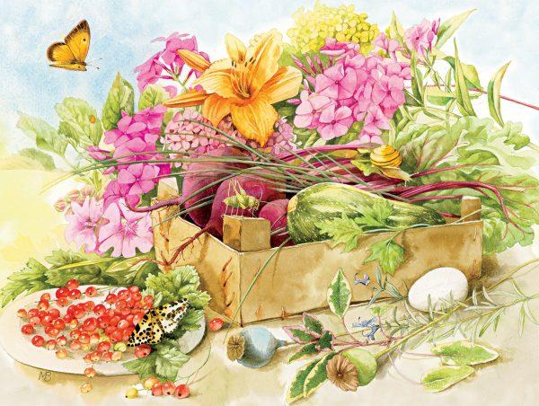 Marjolein Bastin - Summer Flowers 300 Piece JIgsaw Puzzle - Ceaco