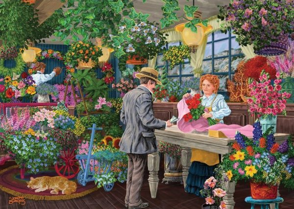Shopkeepers - Blooms & Bouquets 1000 Piece Jigsaw Puzzle - Holdson