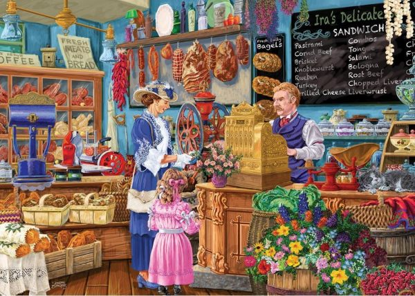 Shopkeepers - Ira's Deli 1000 piece Jigsaw Puzzle - Holdson