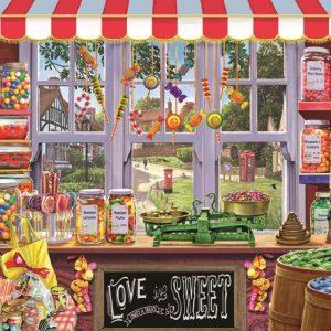 Sidney's Sweet Shoppe 1000 Piece Jigsaw Puzzle