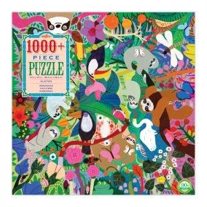 Sloths 1008 Piece Jigsaw Puzzle - eeBoo