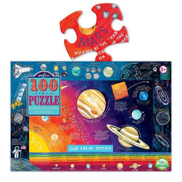 Solar System 100 Piece Jigsaw Puzzle eeboo